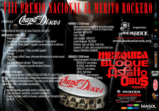 Jornadas VIII Premio Mrito Rockero